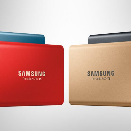 4 Dyski SSD Samsung T5