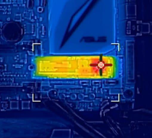 termiczny obraz dysku ssd